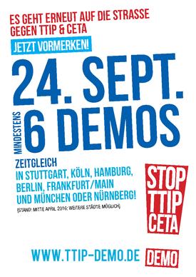 TTIP - Verhandlungen sofort beenden